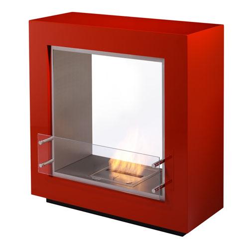 Ecosmart fire fusion ventless designer fireplace stardust for Ventless fireplace modern