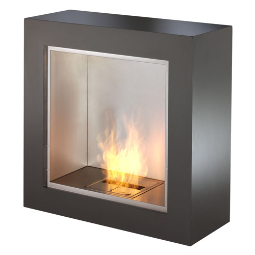 Ecosmart Fire Cube Modern Ventless Designer Fireplace