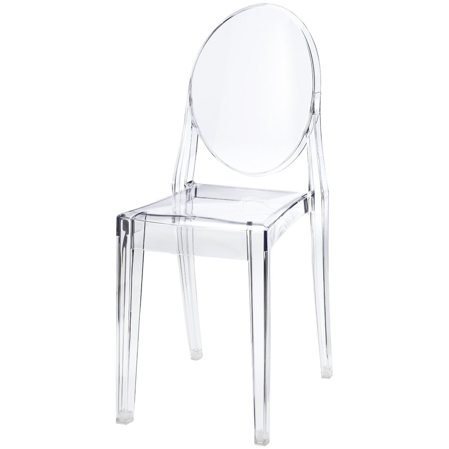 victoria ghost transparent acrylic chair by kartell - sale | Stardust