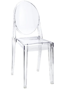 Kartell philippe starck ghost chair louis ghost charles for Chaise ghost kartell