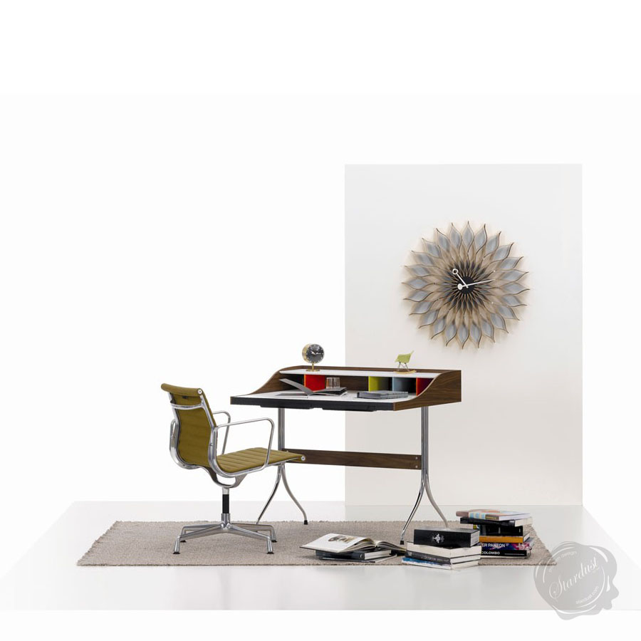 george nelson sunflower clock vitra sample sale stardust. Black Bedroom Furniture Sets. Home Design Ideas