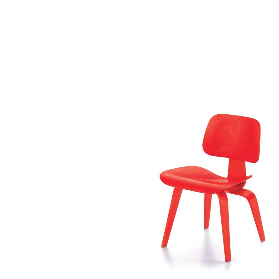 vitra miniature dcw chair by charles and ray eames stardust