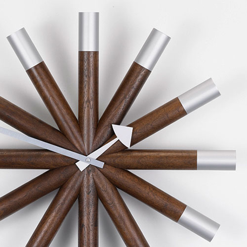 Vitra Wheel Modern Wall Clock By George Nelson