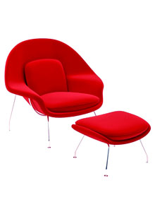 Vitra Miniature Womb Chair By Eero Saarinen ...