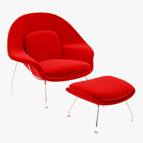 vitra miniature womb chair by eero saarinen stardust. Black Bedroom Furniture Sets. Home Design Ideas