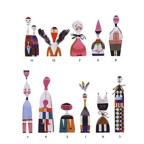 GIRARD Wooden Doll Stardust