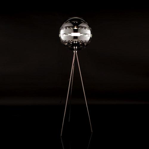 Zebra Floor Lamps : Viso zebra modern floor lamp stardust