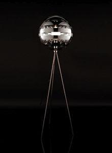 Viso Zebra Modern Floor Lamp ...