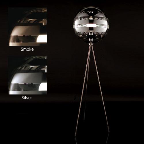 Viso zebra modern floor lamp stardust viso zebra modern floor lamp aloadofball Image collections